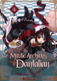 The mystic archives of Dantalian T4, manga chez Soleil de Mikumo, Abeno, Yusuke (Green Wood)