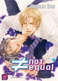 Not equal T2, manga chez Taïfu comics de Reibun