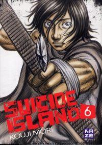Suicide island T6, manga chez Kazé manga de Mori