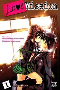Love mission T1, manga chez Pika de Toyama