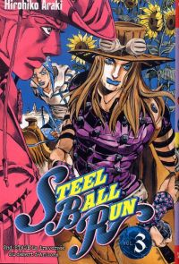 Steel ball run T3, manga chez Tonkam de Araki