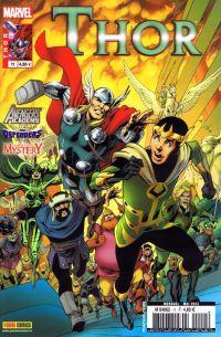 Thor T11 : La bande d'en face, comics chez Panini Comics de Gage, Gillen, Fraction, Grummet, Davis, Di Giandomenico, McKelvie, Rodriguez, Bellaire