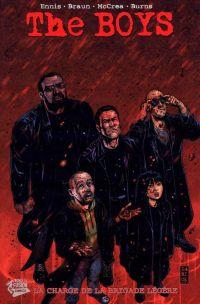 The Boys – édition souple, T18 : La charge de la brigade légère (0), comics chez Panini Comics de Ennis, Burns, McCrea, Braun, Aviña, Robertson