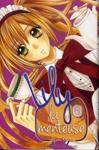Lily la menteuse T6, manga chez Delcourt de Komura