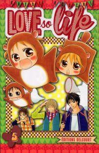 Love so life T5, manga chez Delcourt de Kouchi