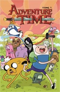 Adventure time T2, comics chez Urban Comics de North, Robinson, Roberson, Pope, Lamb, Knisley, Paroline, Collectif, Houghton