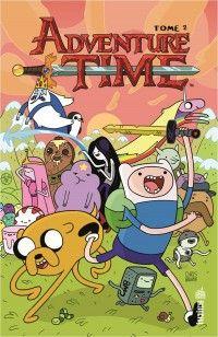 Adventure time T2, comics chez Urban Comics de North, Robinson, Roberson, Pope, Lamb, Knisley, Paroline, Collectif, Houghton