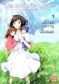 Les enfants loups - Ame et Yuki T1, manga chez Kazé manga de Hosada, YU, Sadamoto