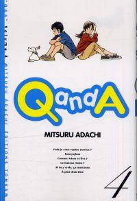 Q and A T4, manga chez Tonkam de Adachi
