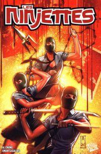 Les Ninjettes, comics chez Panini Comics de Ewing, Casallos, Inlight studio