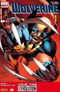 Wolverine (revue) T1 : Marvel Now ! - Un vent nouveau, comics chez Panini Comics de Aaron, Cornell, Bradshaw, Sanders, Davis, Martin, Hollingsworth, d' Armata, Coipel