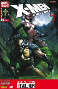 X-Men Universe T1 : Marvel Now ! - Sauvage (0), comics chez Panini Comics de Cho, Humphries, Liu, Lapham, Arlem, Ruiz, Garney, Hernandez Walta, Keith, Brown, Peter, Loughridge, Quintana, Gonzalez, Gracia, Dell'otto