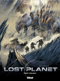 Lost planet, bd chez Glénat de Izu, Dall'oglio