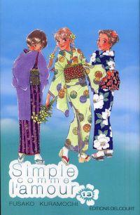 Simple comme l'amour T13, manga chez Delcourt de Kuramochi