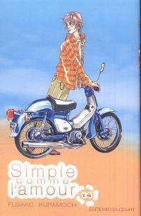 Simple comme l'amour T14, manga chez Delcourt de Kuramochi