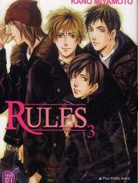 Rules T3, manga chez Taïfu comics de Miyamoto