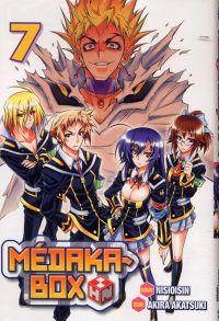 Médaka-Box T7, manga chez Tonkam de Isin, Akatsuki