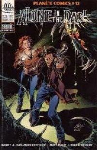Planète Comics T12 : Alone in the dark (0), comics chez Semic de Lofficier, Lofficier, Grivaud, Haley, Briclot, Goussale, Hahn