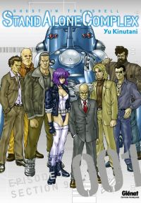 Ghost in the Shell - Stand alone complex  T1, manga chez Glénat de Shirow, Kinutani