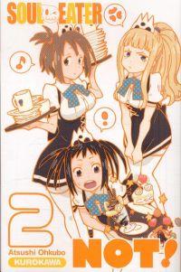Soul eater Not !  T2, manga chez Kurokawa de Ohkubo
