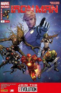 Iron Man (revue) T2 : Piège spatial (0), comics chez Panini Comics de Fraction, Bendis, Gillen, Loeb, Bagley, Land, McGuinness, McNiven, Ponsor, Guru efx, Quintana, Mounts, Gracia
