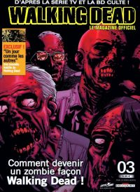 Walking Dead – Le magazine officiel, T3, comics chez Delcourt de Collectif, Bonansinga, Adlard