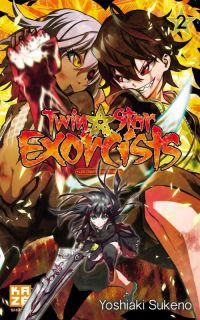 Twin star exorcists T2, manga chez Kazé manga de Sukeno