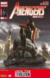 The Avengers (revue) – Hors série, T1 : L'enfer est plus doux... - Miss Hulk Rouge (1/2) (0), comics chez Panini Comics de Parker, Alves, Pagulayan, Tartaglia, Staples, Schirmer