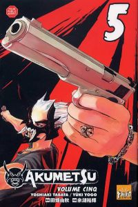 Akumetsu  T5, manga chez Taïfu comics de Tabata, Yogo