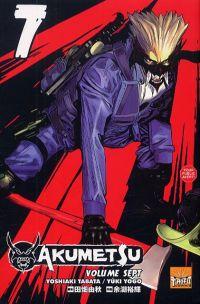 Akumetsu  T7, manga chez Taïfu comics de Tabata, Yogo