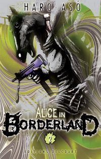Alice in borderland T2, manga chez Delcourt de Haro