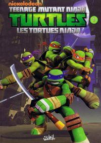 Teenage Mutant Ninja Turtles T1 : Premier pas (0), comics chez Soleil de Sternin, Ventimilia, Eisinger