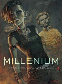 Millénium – cycle 1, T2 : Les hommes qui n'aimaient pas les femmes (seconde partie) (0), bd chez Dupuis de Runberg, Homs