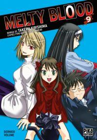 Melty blood T9, manga chez Pika de Type-moon, French bread, Kirishima