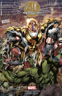 Age of Ultron T1, comics chez Panini Comics de Bendis, Hitch, Mounts, Djurdjevic
