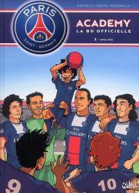 PSG academy T2 : Rivalités (0), bd chez Soleil de Mariolle, Bento, Perdrolle