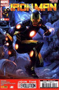 Iron Man (revue) – V 2, T3 : La peur du vide (0), comics chez Panini Comics de Fraction, Bendis, Gillen, Loeb, Bagley, McGuinness, Pichelli, McNiven, Land, Guru efx, Mounts, Ponsor, Gracia, Cheung