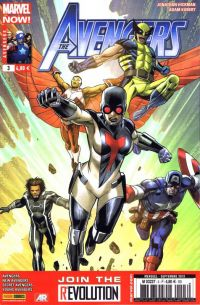 The Avengers (revue) T3 : Super-Garde (0), comics chez Panini Comics de Spencer, Hickman, Gillen, Epting, Kubert, Norton, McKelvie, Ross, d' Armata, Martin jr, Wilson, Pacheco