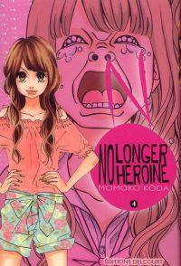 No longer heroine T4 : , manga chez Delcourt de Koda