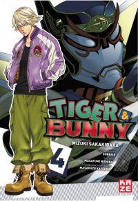 Tiger & bunny T4, manga chez Kazé manga de Nishida, Sakakibara