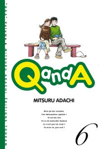 Q and A T6, manga chez Tonkam de Adachi