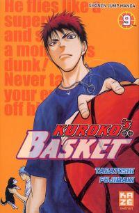 Kuroko's basket T9, manga chez Kazé manga de  Fujimaki