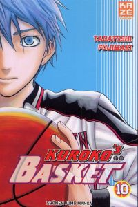 Kuroko's basket T10, manga chez Kazé manga de  Fujimaki