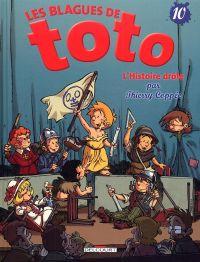 Les blagues de Toto T10 : L'histoire drôle (0), bd chez Delcourt de Coppée, Lorien