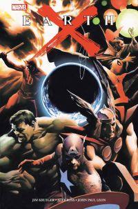 Earth X, comics chez Panini Comics de Krueger, Ross, Leon