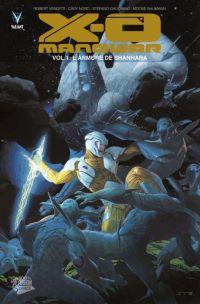 X-O Manowar (2012) – version librairie, T1 : L'armure de Shanhara (0), comics chez Panini Comics de Venditti, Gaudiano, Nord, Baumann, Ribic