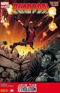 Deadpool (revue) – V 4, T2 : Les morts aux trousses (0), comics chez Panini Comics de Duggan, Tieri, Posehn, Moore, Staggs, Brown, Staples, Moore