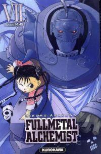 Fullmetal Alchemist - edition double T7, manga chez Kurokawa de Arakawa
