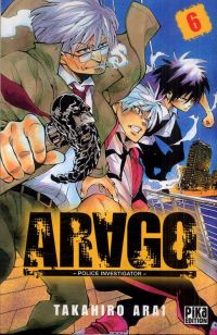 Arago T6, manga chez Pika de Arai