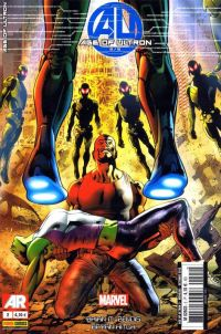 Age of Ultron T2, comics chez Panini Comics de Bendis, Hitch, Mounts